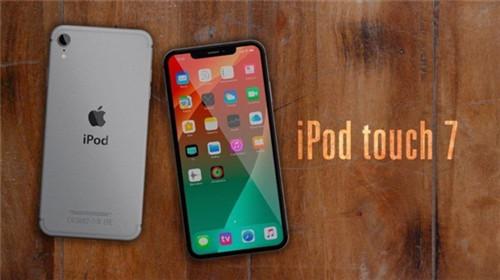 苹果全新iPod touch 7概念图