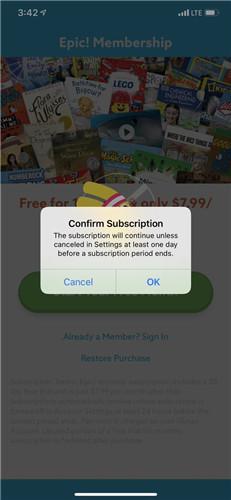 蘋果手機為應用內訂閱加入二次彈窗驗證