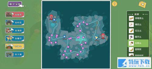 小森生活在哪采集果子 小森生活采集资源分布